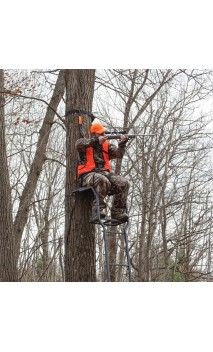 Treestands RE646 CLASSIC 1-MAN RIVERS EDGE - ARQUERÍA DE ULYSSE - ULISES CON ARCO