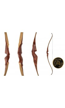"Bow Hunting Recurve 60"" VARRO BUCK COCOBOLO TRAIL ELITE - Ulysses archery - equipment - accessorie -"
