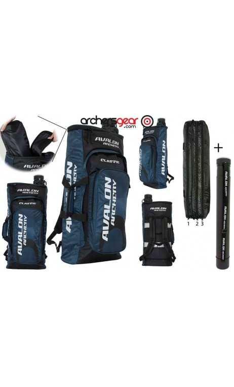 CLASSIC dorsal bag with arrows tubes SL 425 AVALON ARCHERY
