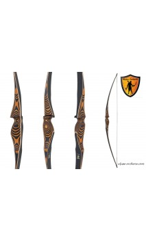 "traditional bow Longbow Thargo 68"" OAK RIDGE"