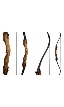 "Removable hunting bow TAIPAN 60"" TOUCHWOOD"