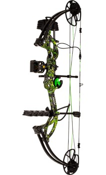 Hunting compound bow kit CRUZER G2 TOXIC BEAR ARCHERY - Ulysses archery - equipment - accessorie -