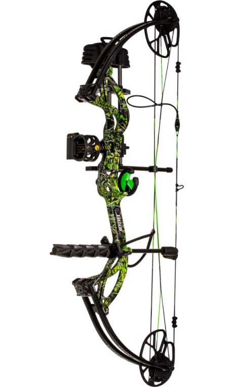 Kit arco compound da caccia CRUZER G2 TOXIC BEAR ARCHERY