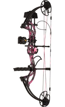 Kit de arco compuesto de caza CRUZER G2 MUDDY GIRL BEAR ARCHERY