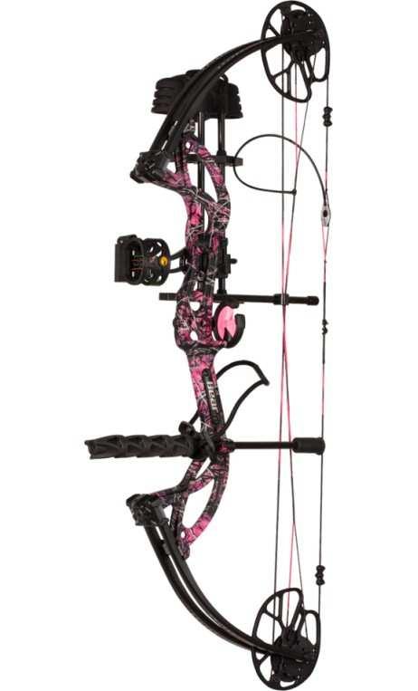 Kit arco compound da caccia CRUZER G2 MUDDY GIRL BEAR ARCHERY - Tiro con l'arco di Ulisse - ULISSE TIRO CON L'ARCO -