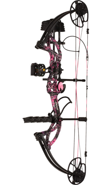 Kit de arco compuesto de caza CRUZER G2 MUDDY GIRL BEAR ARCHERY - ARQUERÍA DE ULYSSE - ULISES CON ARCO