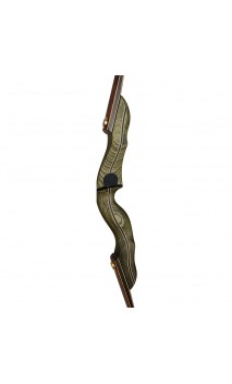 """Traditional Hunting Bow 62"""" Mohawk Chief De Luxe Bearpaw"""