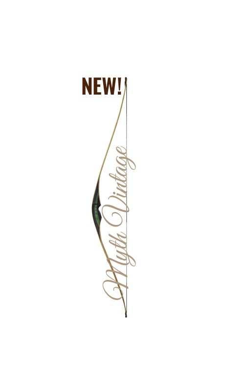 "Arc traditionnel longbow hybrid MYTH VINTAGE 61"" FALCO ARCHERY - ULYSSE ARCHERIE"