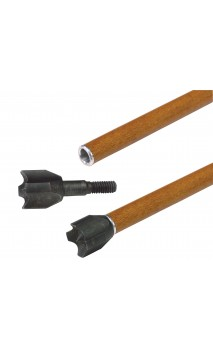 Pointe de chasse HAMMER Small Game Blunt 145 grains à viser 3RIVERS ARCHERY  - ULYSSE ARCHERIE