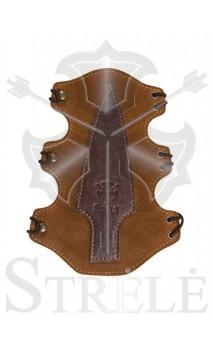 "Protège bras ""CHINOOK"" en cuir naturel STRELE  - ULYSSE ARCHERIE"
