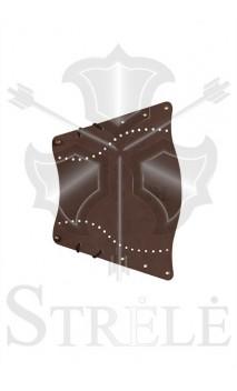 Tradizionale protezione braccio in pelle STRELE - Tiro con l'arco di Ulisse - ULISSE TIRO CON L'ARCO -