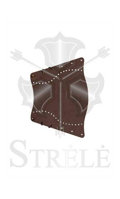 Tradizionale protezione braccio in pelle STRELE