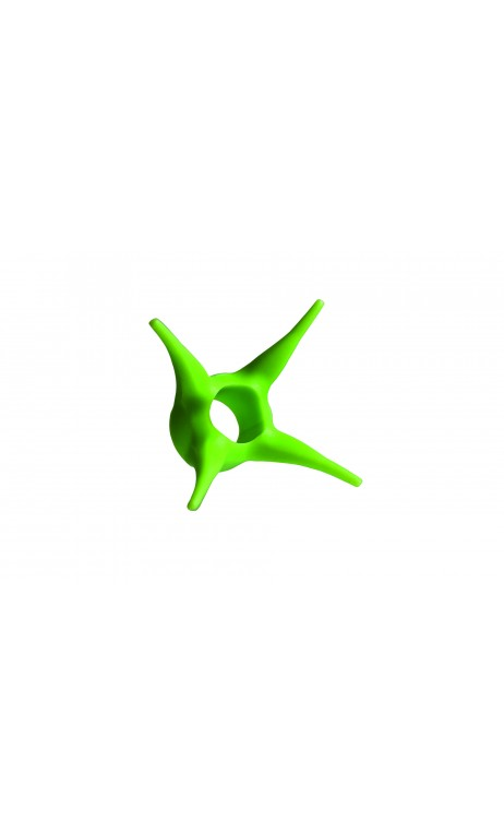 ARROW STOPPER 6,6 - 8 mm avec O-RING Verde Fluo TOPHAT ARCHERY