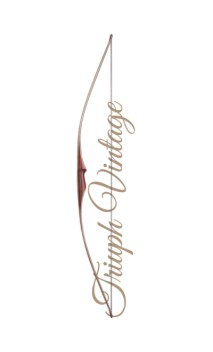 "Traditional Longbow Bow TRIUMPH VINTAGE 68"" FALCO ARCHERY - Ulysses archery - equipment - accessorie -"