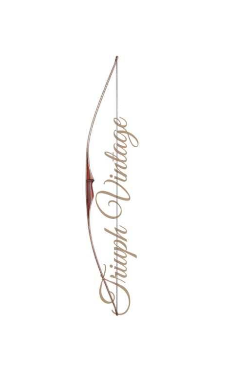 "Traditional Longbow Bow TRIUMPH VINTAGE 68"" FALCO ARCHERY - Ulysses archery - equipment - accessorie -"