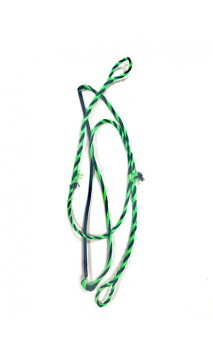 "Braided rope Black / Green 43,75"" LONG ONEIDA EAGLE BOWS - Ulysses archery - equipment - accessorie -"