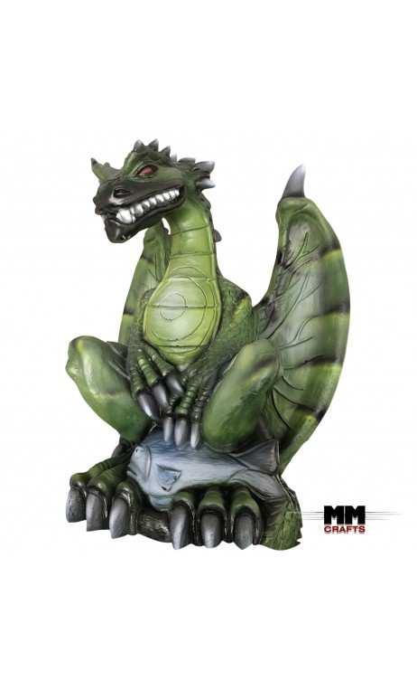 Dragon 3D Fantaisie Vert Camo MMCrafts Targets - ULYSSE ARCHERIE