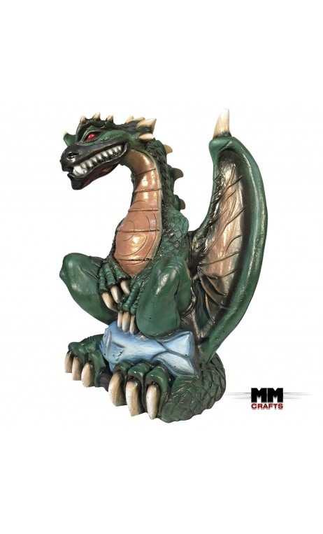 Dragon 3D Fantaisie Vert MMCrafts Targets - ULYSSE ARCHERIE