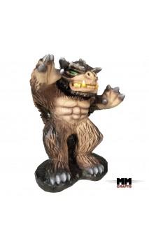 Trolls des forêts 3D Marron Clair MMCrafts Targets
