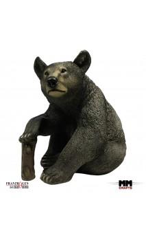Der Braunbär sitzt 3D Ziel FRANZBOGEN TARGETS
