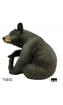 Brown bear sitting 3D FRANZBOGEN TARGETS