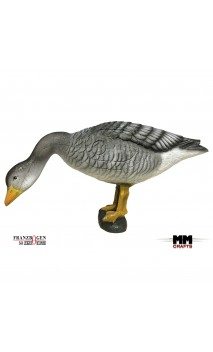 Target 3D The gray goose that eats FRANZBOGEN
