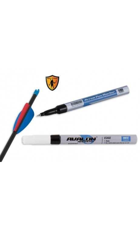 stylo marqueur blanc pour flèche AVALON ARCHERY - Ulysses archery - equipment - accessorie -