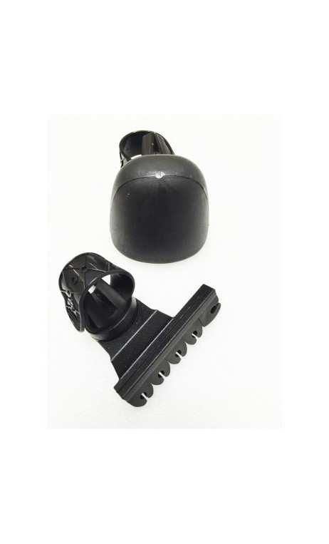 Carquois d'arc traditionnel Plastique noir/ 5 flèches OLD TRADITION un équipement pour votre arc de chasse.