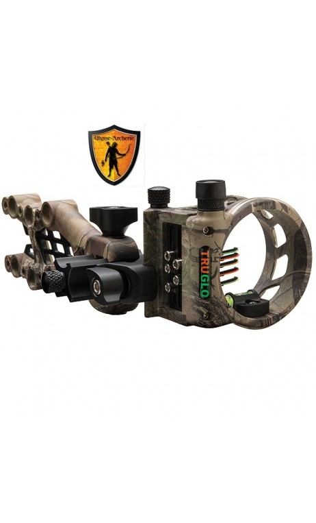 CARBON HYBRID hunting sight Realtree Xtra 5-PIN RH TRUGLO ARCHERY - Ulysses archery - equipment - accessorie -