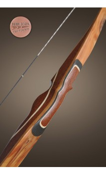 "Traditional CREEK 66"" longbow BEIER GERMANY - Ulysses archery - equipment - accessorie -"