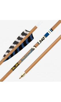 Tubo de madera de imitación de carbono TRADITIONAL XT GOLD TIP - ARQUERÍA DE ULYSSE - ULISES CON ARCO
