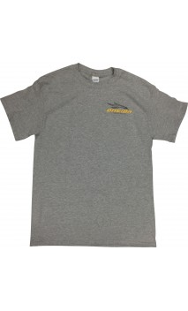 Gray T-Shirt short sleeves ONEIDA EAGLE BOWS - ULYSSE ARCHERIE