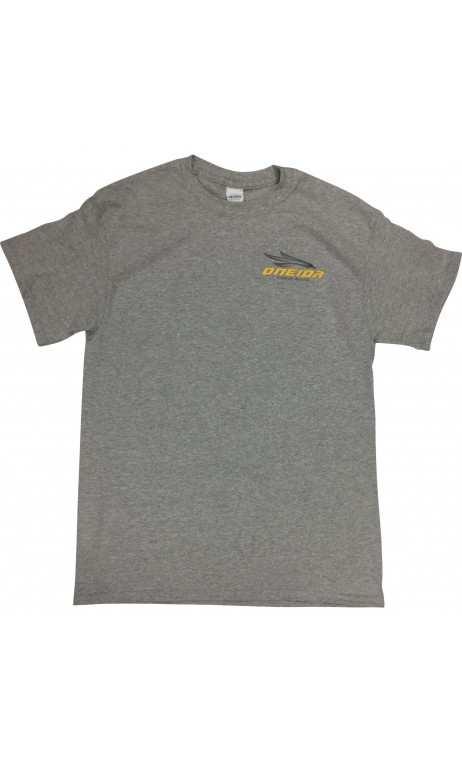 Camiseta gris de manga corta ONEIDA EAGLE BOWS - ARQUERÍA DE ULYSSE - ULISES CON ARCO