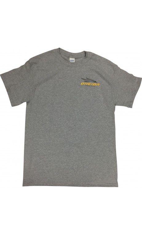 Graues T-Shirt-Ärmel kurz ONEIDA EAGLE BOWS BOWS - ULYSSE ARCHERIE
