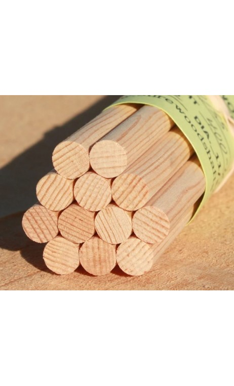 Fût bois traditionnel 5-16 en Sapin DOUGLAS FIR de haute qualité - ULYSSE ARCHERIE