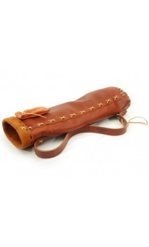 HOWARD HILL ARCHERY Soft Leather Back Quiver