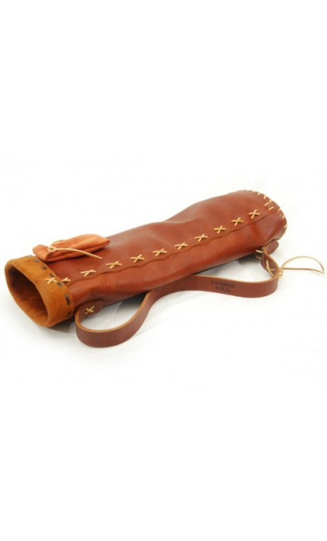 HOWARD HILL ARCHERY Soft Leather Back Quiver - Ulysses archery - equipment - accessorie -