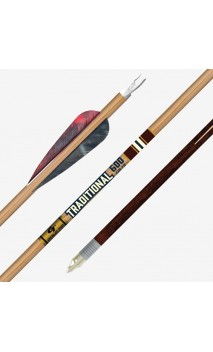 tubo de carbono TRADITIONAL CLASSIC GOLD TIP