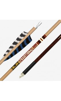 tubo in carbonio TRADITIONAL CLASSIC XT .204 GOLD TIP