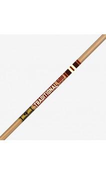 tubo de carbono TRADITIONAL CLASSIC XT .204 GOLD TIP