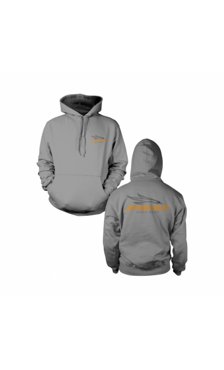ONEIDA EAGLE BOWS Gray Hoodie - Ulysses archery - equipment - accessorie -