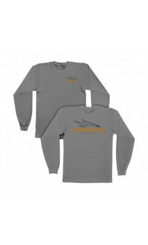 T-shirt grigia manica lunga ONEIDA EAGLE BOWS - Tiro con l'arco di Ulisse - ULISSE TIRO CON L'ARCO -