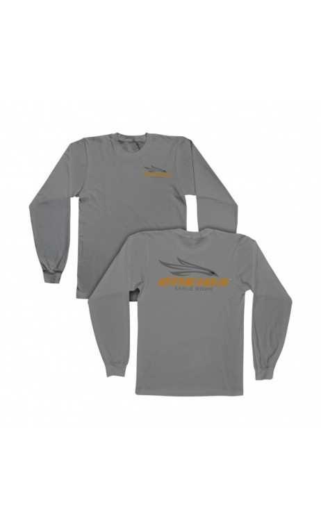long sleeve t-shirt gray ONEIDA EAGLE BOWS - Ulysses archery - equipment - accessorie -