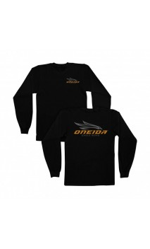 ONEIDA EAGLE BOWS camiseta negro de manga larga