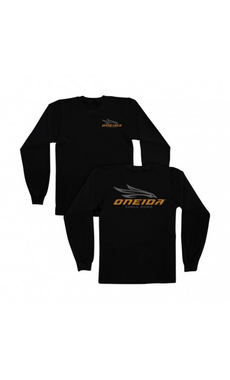 long sleeve t-shirt black ONEIDA EAGLE BOWS - Ulysses archery - equipment - accessorie -