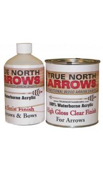 Vernice all'acqua lucida 1 litri TRUE NORTH ARROWS - Tiro con l'arco di Ulisse - ULISSE TIRO CON L'ARCO -