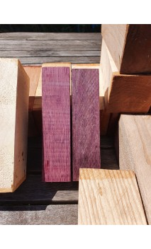 Blocs de bois de Amarante (PURPLE HEART)