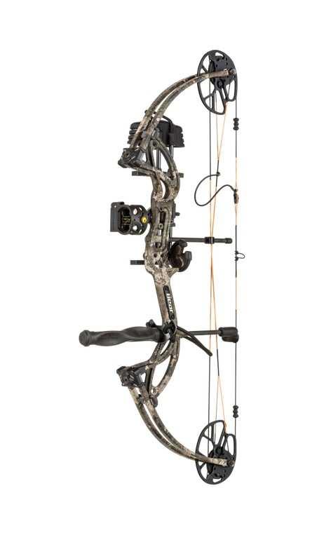 Hunting compound bow kit True Timber STRATA CRUZER G2 BEAR ARCHERY - ULYSSE ARCHERIE