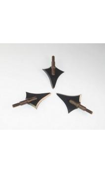Cuchillas de caza Broadheads Contour 125 KUDUPOINT - ARQUERÍA DE ULYSSE - ULISES CON ARCO
