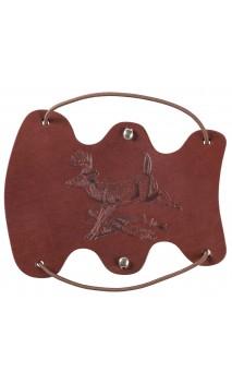 Protège bras Cerf de Virginie en cuir